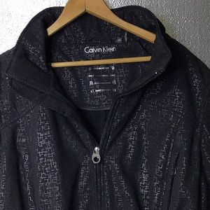 Woman's black Calvin Klein water resistant jacket